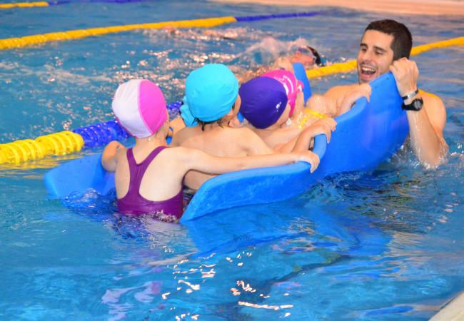 Clases de natación para niños, aprendizaje