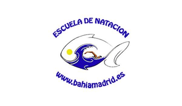 logo de la escuela de natación Bahía Madrid