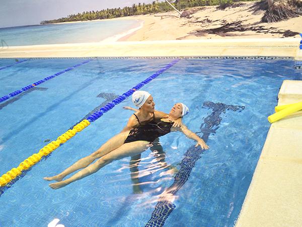 agua terapia terapeutica ejercicio recuperacion rehabilitacion