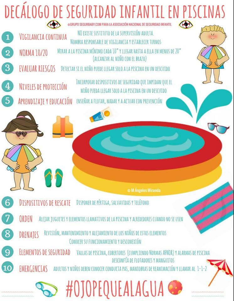 bahia madrid piscina precaucion