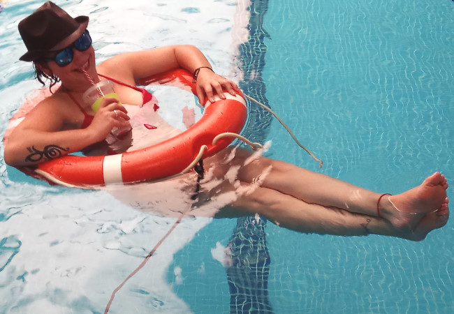desconexion piscina bahia madrid trabajo