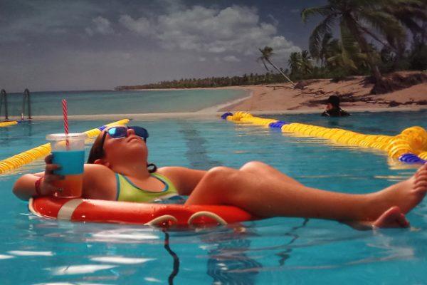 bahia madrid, piscina, desconectar, relax
